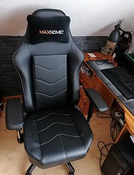 siege gamer maxnomic leader Black