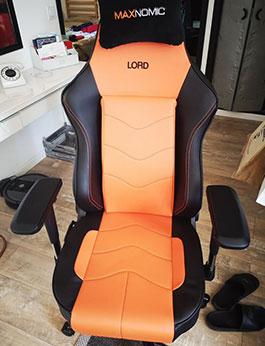 siege gamer maxnomic leader orange