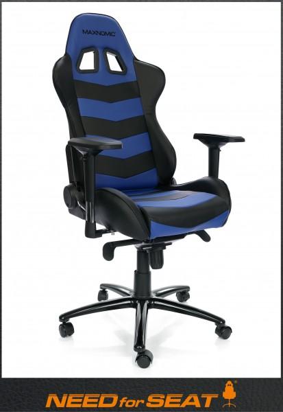 Thunderbolt bleu Maxnomic chaise gamer