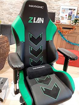 siege gamer maxnomic Edition spéciale ZLAN