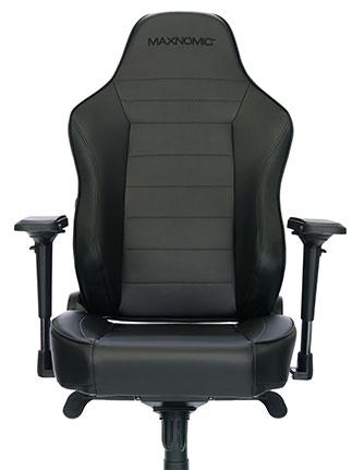 siège gamer sobre noir commanders sIII maxnomic