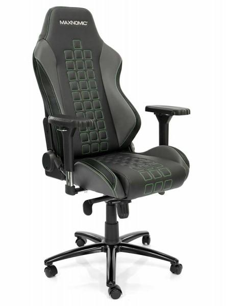 siège gamer sobre vert maxnomic quadceptor pro 1