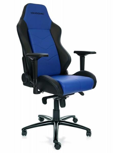 fauteuil gaming bleu maxnomic dominator blue 1