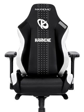siège gamer noir et rouge KARMINE CORP maxnomic