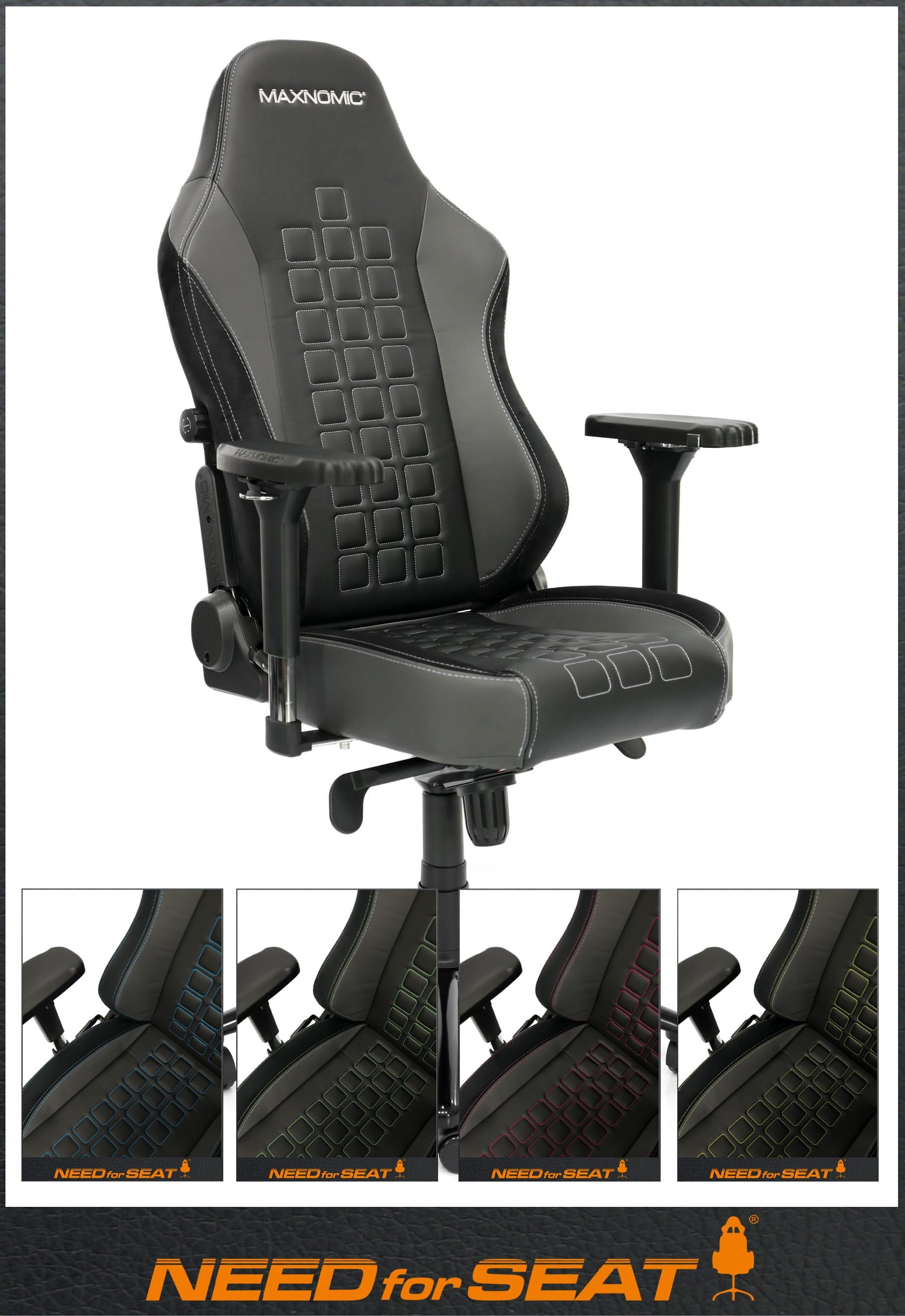 siege gamer maxnomic quadceptor ofc achat en ligne needforseat france. Black Bedroom Furniture Sets. Home Design Ideas