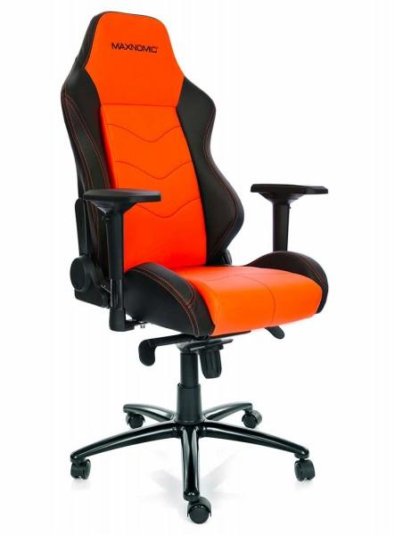 fauteuil gaming orange maxnomic dominator 1