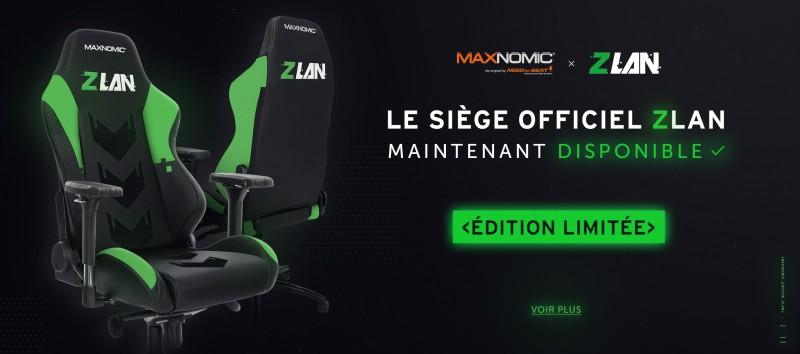 Annonce siège MAXNOMIC x ZLAN2020