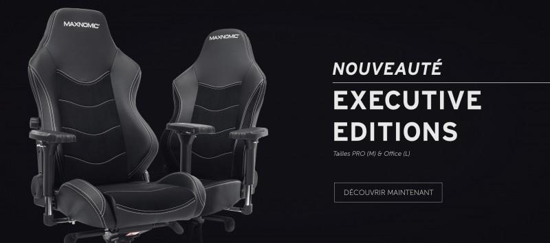 Visuel siège Dominator Executive Edition