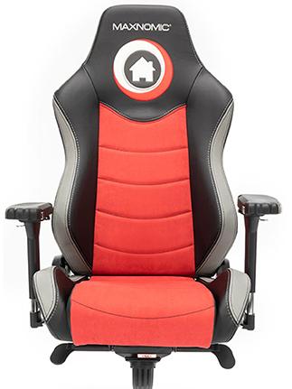 siège gamer noir et rouge Take TV PRO 2.0 maxnomic