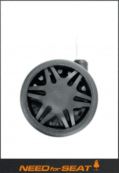 roulettes noir maxnomic
