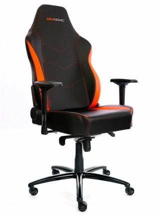 siège gamer grande taille orange needforseat XL 5